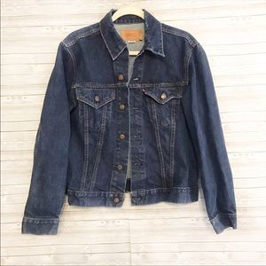 Levi Strauss Denim Trucker III Jacket Sz 42
